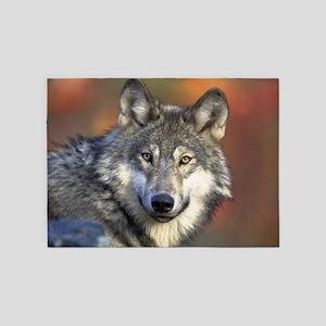 Wolf 022 5'x7'Area Rug