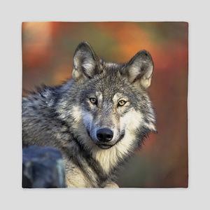 Wolf 022 Queen Duvet