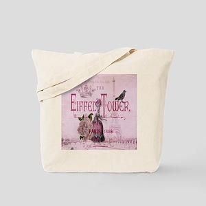pink paris marie antoinette Tote Bag