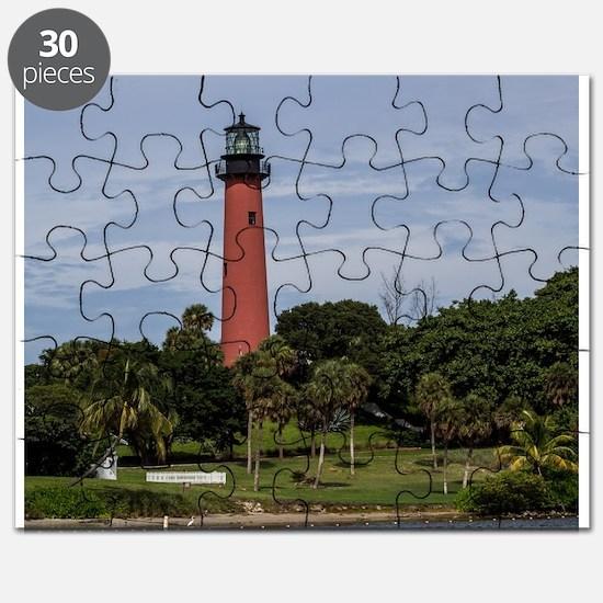 Unique Light houses Puzzle