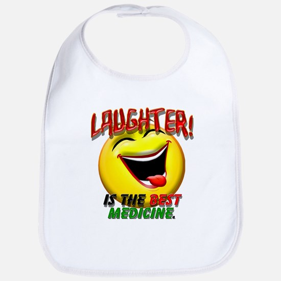 LAUGHTER IS THE BEST MED 1 pract flat.png Bib
