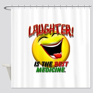 LAUGHTER IS THE BEST MED 1 pract flat Shower C