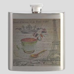 romantic chic paris coffee Flask