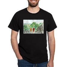 Buddhist Temple Monks T-Shirt