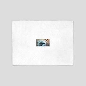 Wulan's Dandelion 5'x7'Area Rug