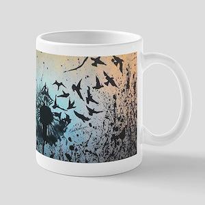 Wulan's Dandelion Mugs