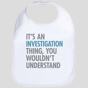 Investigation Thing Bib