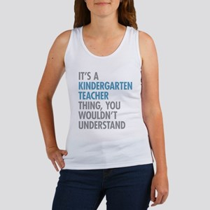 Kindergarten Teacher Thing Tank Top