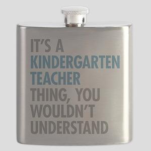 Kindergarten Teacher Thing Flask