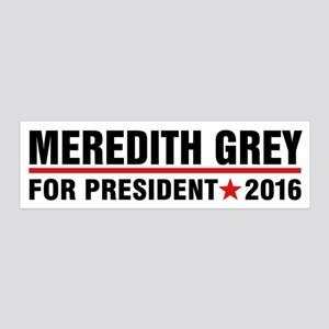 Meredith Grey for President Wall Decal