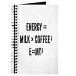 Energy Milk Coffee Journal