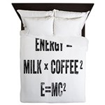 Energy Milk Coffee Queen Duvet