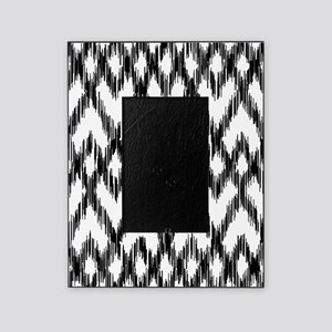 Ikat Pattern Black/White Picture Frame