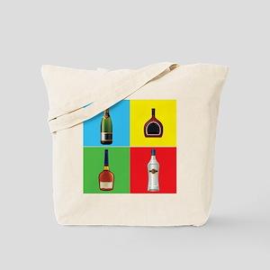 liquor pop art Tote Bag