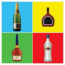 liquor pop art Poster
