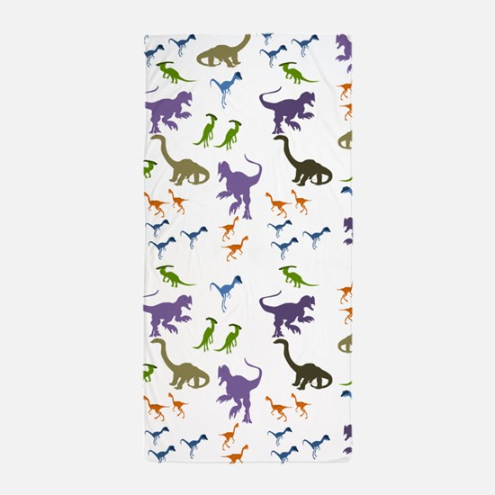 Dinosauria II Beach Towel