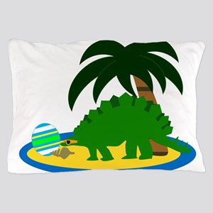 Beachosaurus Pillow Case