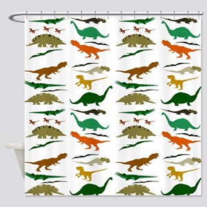 Dinosauria Shower Curtain