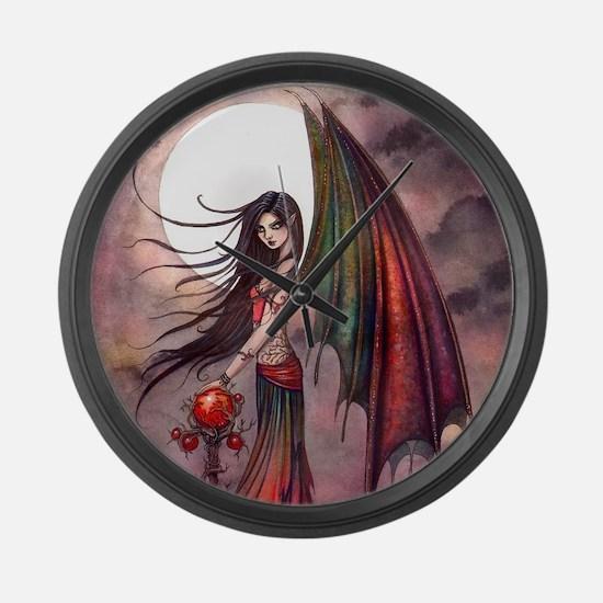 Mystic Autumn Vampire Halloween Fairy Large Wall C