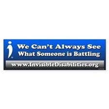 What Someone Is Battling (bumper) Bumper Sticker