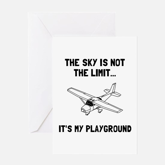 Cute Playground Greeting Card
