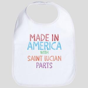 Saint Lucian Parts Bib