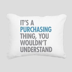 Purchasing Thing Rectangular Canvas Pillow