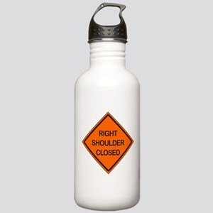 Right Shoulder Closed Stainless Water Bottle 1.0L