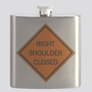 Right Shoulder Closed Flask