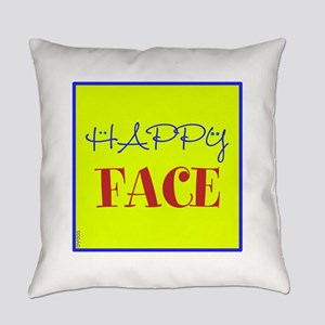 OYOOS Happy Face design Everyday Pillow