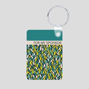 Sponsor (leaf Graphic) Keychains