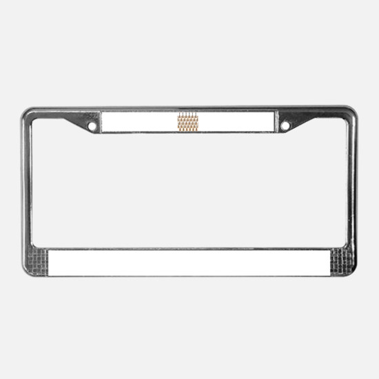 lots of instruments License Plate Frame