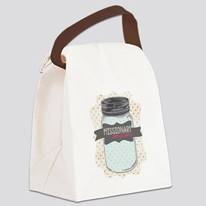 Missionary Mom Canvas Lunch Bag