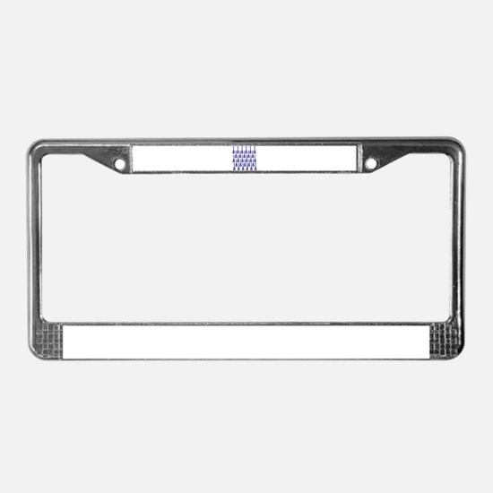 musicial instruments License Plate Frame