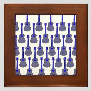 musicial instruments Framed Tile