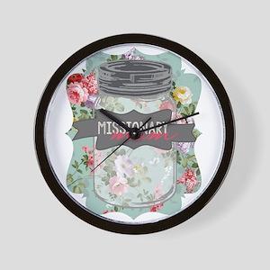Missionary Mom Wall Clock
