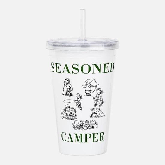 Seasoned Camper Acrylic Double-wall Tumbler