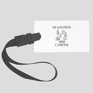 Seasoned Camper Luggage Tag