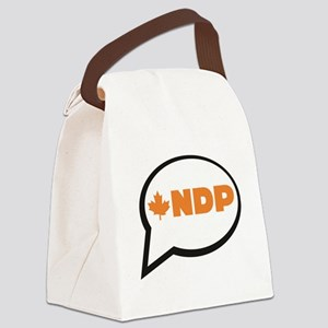 Speak NDP Canvas Lunch Bag