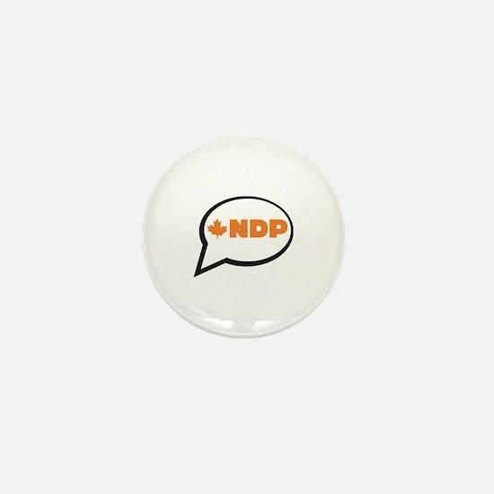 Speak NDP Mini Button