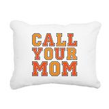 Call your mom Rectangle Canvas Pillows