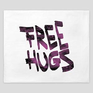 Free Hugs King Duvet