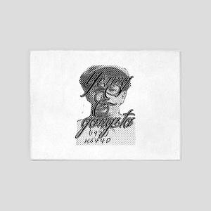 Young & Gangsta 5'x7'Area Rug