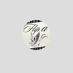 Flip a Bird Mini Button