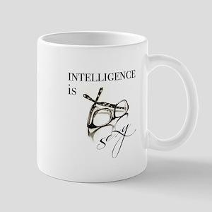 Intelligency is Sexy Glasses Mugs
