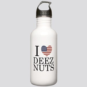 I Love Deez Nuts Stainless Water Bottle 1.0L