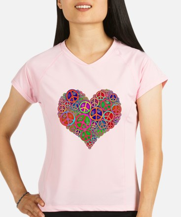 Peace and Love Performance Dry T-Shirt