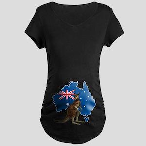 Australia Maternity T-Shirt