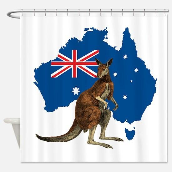 Australia Shower Curtain