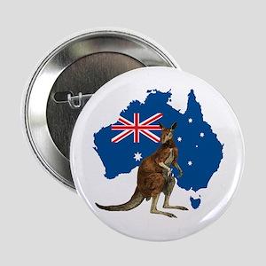 """Australia 2.25"""" Button"""